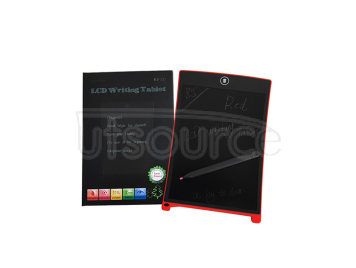 Magnet LCD Writing Tablet/Electronic Drawing Board/touchscreen 8.5inch—red