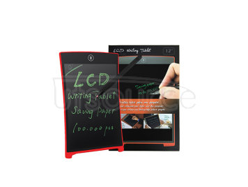 Magnet LCD Writing Tablet/Electronic Drawing Board/touchscreen 12inch—red
