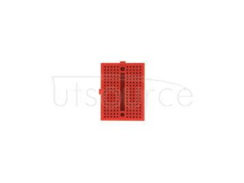 mini breadboard/red mini breadboard/arduino experimental platform/protable mini breadboard