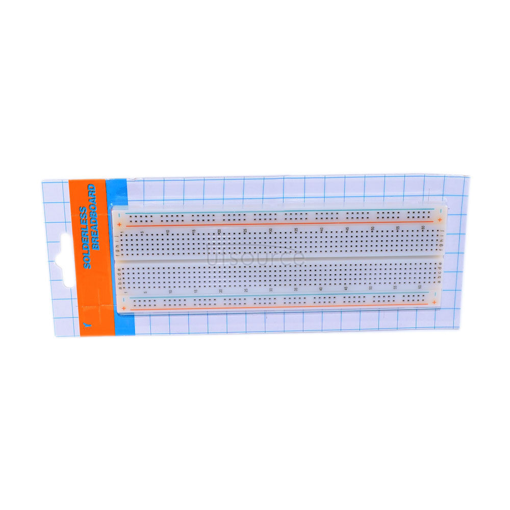 830 Point Solderless PCB Bread Board MB-102