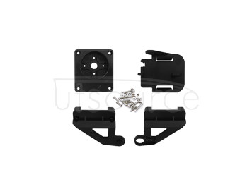 ABS Cradle Head Accessory Parts Set for FPV - Black