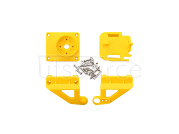 ABS Cradle Head Accessory Parts Set for FPV - Yellow