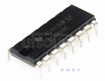 CD4060 CMOS 14-STAGE RIPPLE-CARRY BINARY COUNTER/DIVIDER AND OSCLLLATOR
