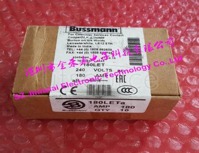 100%New and original BUSSMANN BS88:4 Fuse Cutout  180LETa (180LET)  180A  240V