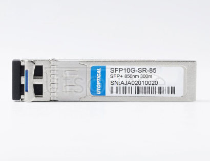 Brocade 10G-SFPP-SR Compatible SFP10G-SR-85 850nm 300m DOM Transceiver Every transceiver is individually tested on a full range of Brocade equipment and passed the monitoring of Utoptical's intelligent quality control system.