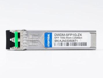 HPE DWDM-SFP1G-56.55-80 Compatible DWDM-SFP1G-ZX  1556.55nm 80km DOM Transceiver