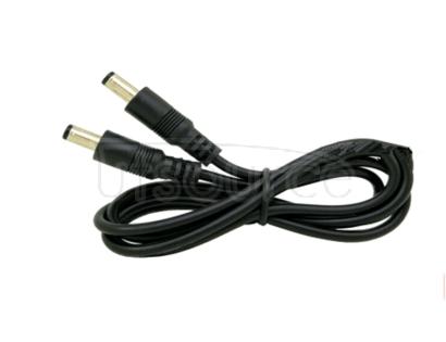 Pure copper 0.75 square DC line public pair power line DC5.5*2.1MM joint double male head power line 1 meters