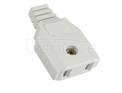 High quality monitoring power supply plug head centralized power supply and socket two hole monitoring weak current 220V volt two foot socket <5pcs> High quality 220V power outlets, screws, sheets, fixed wiring, solid contact, firm workmanship, less defects, monitoring /LED centralized power supply, smooth and smooth appearance. Transmission characteristics: new material, excellent workmanship, good contact point, stable contact. Product features: contact stability, engineering special two pin female plug, low cost but reliable, small occupied