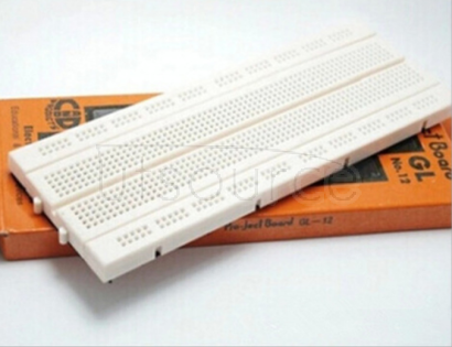 840 hole breadboard can be spliced together. Can be spliced together 840 hole bread plate.