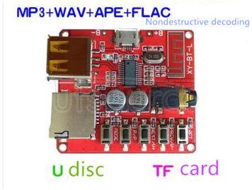MP3 bluetooth decoding module non-destructive car speaker amplifier audio receiver bluetooth 4.1 circuit boards