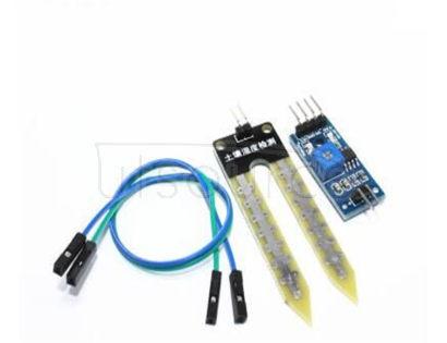 Soil soil humidity sensor soil moisture meter sensor detection module of intelligent vehicle