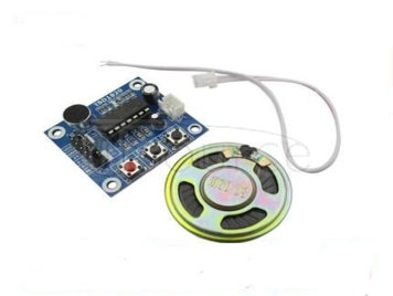 ISD1820 recording voice module voice recording sound module module board with microphones with 0.5 W speakers