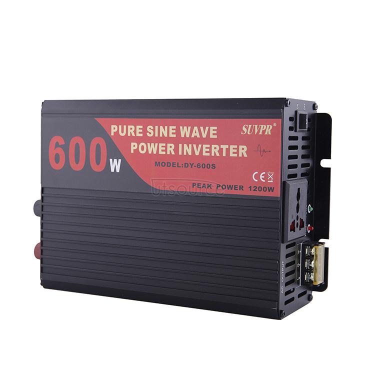 Pure sine wave 600W 12V-220V
