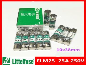 Imported Littelfuse power fuse, original spot fuse FLM25 250V 25A