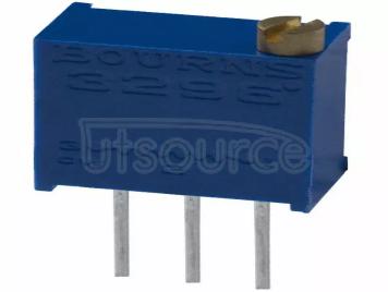 3296W-1-500LF TRIMMER 50 OHM 0.5W PC PIN