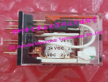 100%New and original MY2N-GS DC24V OMRON Intermediate relay 24VDC 2NO 2NC 8pin (alternative MY2N-J)