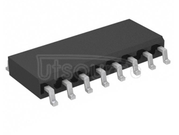 The integrated circuit 74HC595D