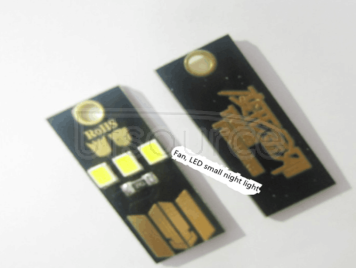 Camping ultra-small super mini night light, mobile power supply is special, but when the amount of desktop