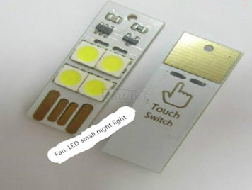 Small night light led the berth lamp plug bedroom creative dream baby touch electric lamp