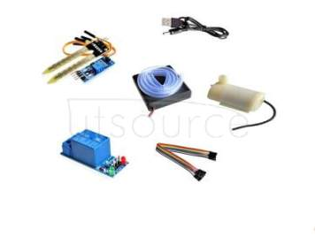 Automatic watering the flowers water pump automatic irrigation module DIY kit soil moisture detection automatic watering pumping