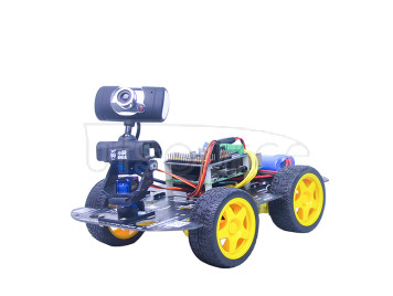 Raspberry Pi 3B Wireless Video Robot