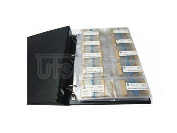 1/6W 1R to 1M 1% Metal Film Resistor Package, Sample Book, 127 kinds each 10pcs Total 1270pcs