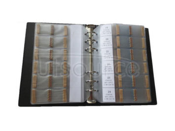 1/6W 1R to 1M 5% Carbon Film Resistor Package, Sample Book, 127 kinds each 10pcs Total 1270pcs