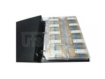1/8W 1R to 1M 1% Metal Film Resistor Package, Sample Book, 127 kinds each 50pcs Total 6350pcs