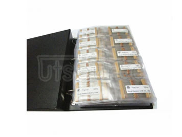 1/6W 1R to 1M 5% Carbon Film Resistor Package, Sample Book, 127 kinds each 50pcs Total 6350pcs