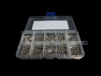 2X6 3X8 Cylindrical DIP Crystal Oscillator, 10 kinds each 20pcs Total 200pcs