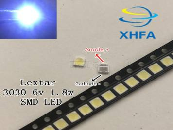 Lextar LED Backlight High Power LED 1.8W 3030 6V Cool white 150-187LM PT30W45 V1 TV Application 3030