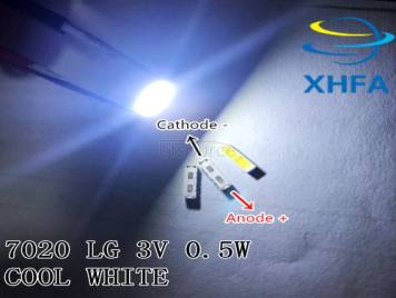 SPECIAL-2 For LG LED LCD Backlight TV Application LED 1W 6V 7020 Cool white LED LCD TV Backlight TV Application BD72K LED