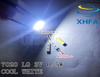 SPECIAL-2 For LG LED LCD Backlight TV Application LED 1W 6V 7020 Cool white LED LCD TV Backlight TV Application BD72K LED