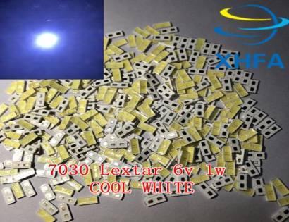 Lextar LED LCD Backlight 100LM 1W 7030 6V Cool white LED LCD TV Application SMD 7030 led cold white