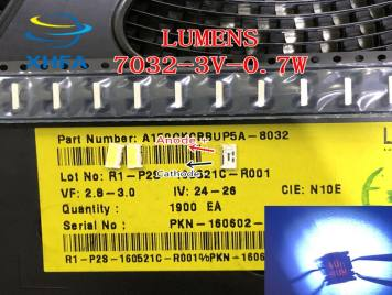 LUMENS LED Backlight Edge LED Series 0.7W 3V 7032 Cool white For SAMSUNG LED LCD Backlight TV Applicatio A150GKCBBUP5A
