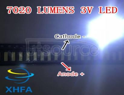 LUMENS 7020 3V 0.5W Cool white LED Backlight Middle Power LED LCD Backlight for TV Application SANE7020P-0W-2074