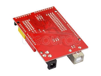 KEYES open-source LGT8F328P UNO V2 control board compatible with arduino OCROBOT  red and eco-friendly