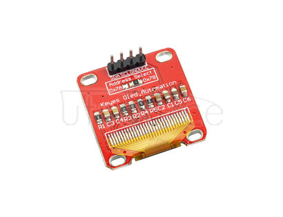 0.96 inch OLED module OLED screen IIC communication yellow- blue sreen compatible with arduino