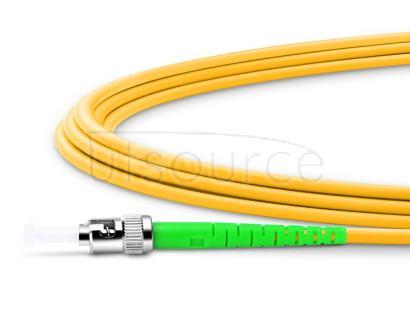 5m (16ft) ST APC to ST APC Simplex 2.0mm PVC(OFNR) 9/125 Single Mode Fiber Patch Cable