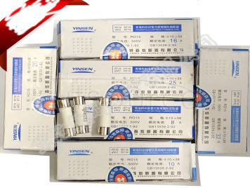 Ceramic fuse tube RT18/14 RO15 10 x38mm 500 v 1A