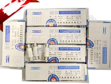 Ceramic fuse tube RT18/14 RO15 10 x38mm 500 v 6A
