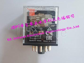 OMRON MKS3P  AC220V  Authentic original Intermediate relay