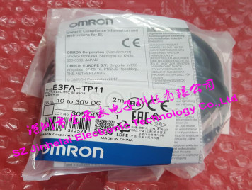 New and original E3FA-TP11 OMRON Photoelectric sensor 10-30VDC 2M BY OMS