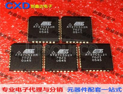 AT27C512R-70JI AT27C512R-12JI AT27C512R-15JI Integrated Circuit Storage IC  512K ( 64K ×8 ) OTP EPROM