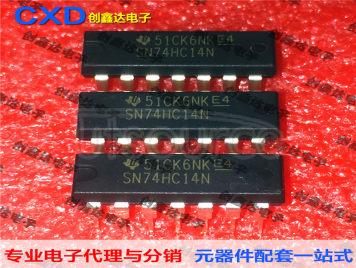SN74HC14N Hexagon Schmitt Trigger Inverter Microcontroller Chip IC