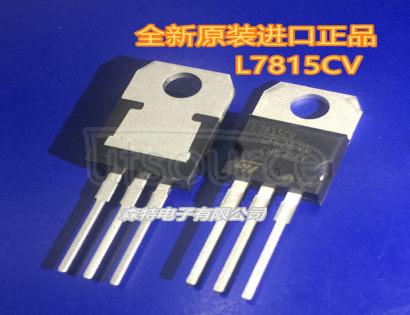 L7815CV IC REG LINEAR 15V 1.5A TO220AB