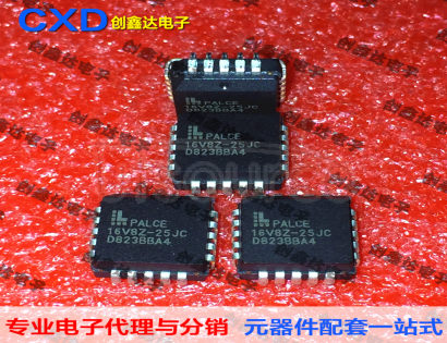 PLCE16V8Z-25JC flash erase reprogrammable device microcontroller chip integrated circuit storage IC