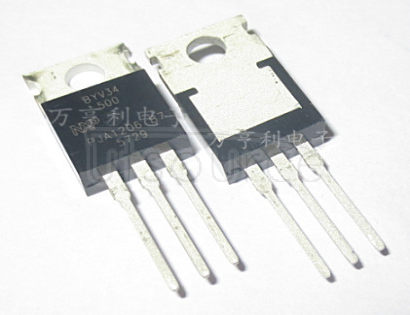 BYV34-500 Rectifier Diodes, WeEn Semiconductors