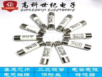Ceramic fuse tubes 10*38mm 1A 500V RO15 RT18 RT14 fuse 20