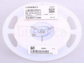 FH(Guangdong Fenghua Advanced Tech) RC-01W6491FT(100pcs)